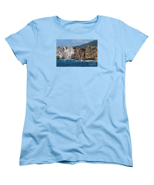 St. Thomas Shoreline Women's T-Shirt (Standard Cut)