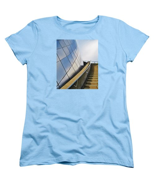 Staircase To Sky Women's T-Shirt (Standard Cut) by Martin Cline