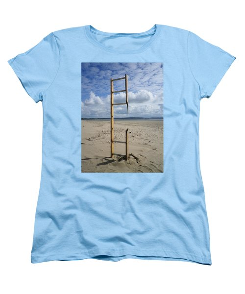 Stairway To Heaven Women's T-Shirt (Standard Cut) by Richard Brookes