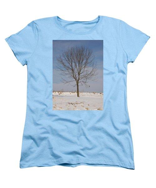 Women's T-Shirt (Standard Cut) featuring the photograph Standing Tall by Sara  Raber