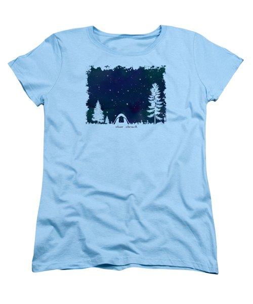 Star Struck Women's T-Shirt (Standard Cut) by Heather Applegate