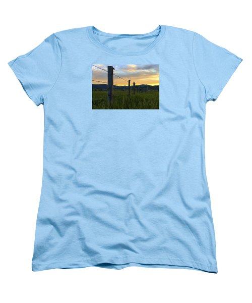 Star Valley Women's T-Shirt (Standard Cut) by Chad Dutson