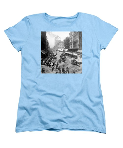 State Street - Chicago Illinois - C 1893 Women's T-Shirt (Standard Cut) by International  Images
