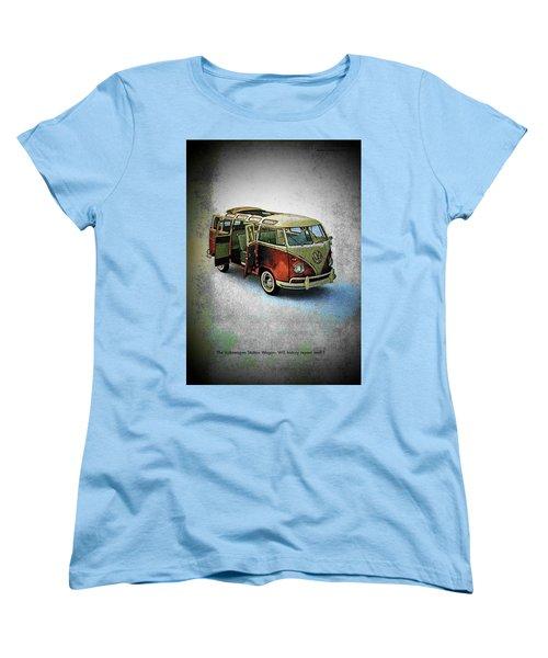 Station Wagon Women's T-Shirt (Standard Cut) by John Schneider