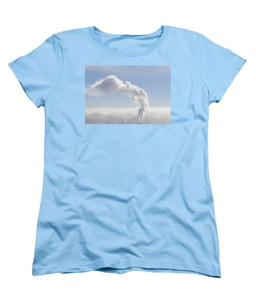 Steam Women's T-Shirt (Standard Cut) by Keith Armstrong