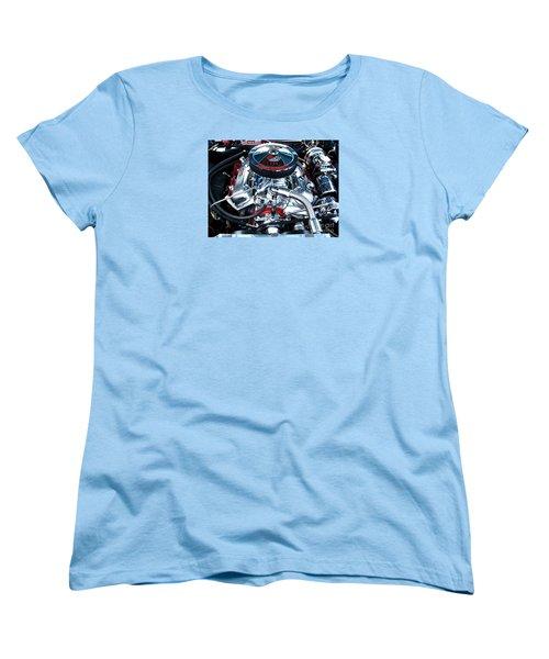 Women's T-Shirt (Standard Cut) featuring the photograph Steel Heartbeat by Rebecca Davis