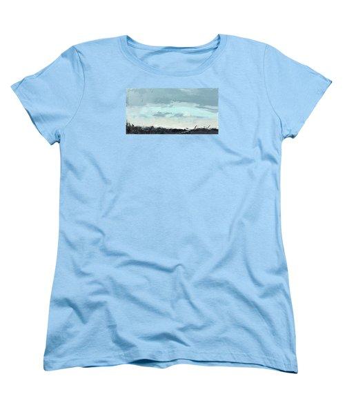 Still. In The Midst Women's T-Shirt (Standard Cut) by Nathan Rhoads