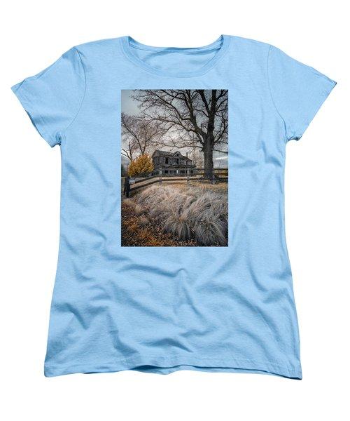 Still Standing Ir Women's T-Shirt (Standard Cut) by Paul Seymour