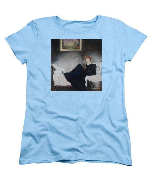 Stillness Of Being Women's T-Shirt (Standard Cut) by Lyric Lucas