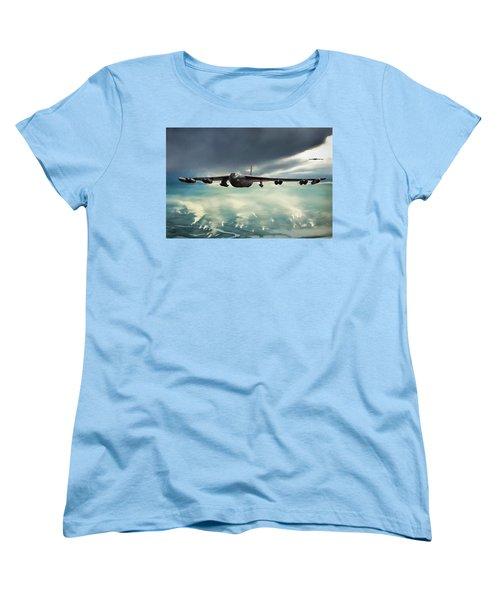Women's T-Shirt (Standard Cut) featuring the digital art Storm Cell by Peter Chilelli