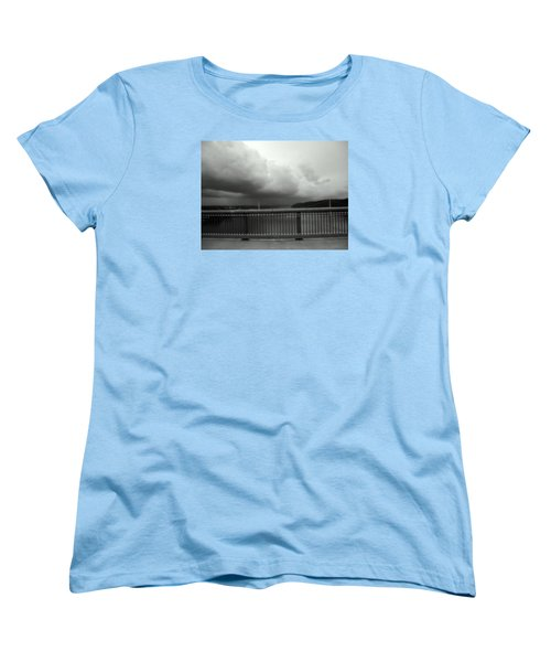 Storm Clouds On The Hudson Women's T-Shirt (Standard Cut)