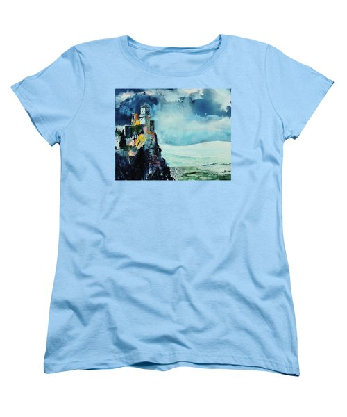 Storm The Castle Women's T-Shirt (Standard Cut) by Tom Riggs