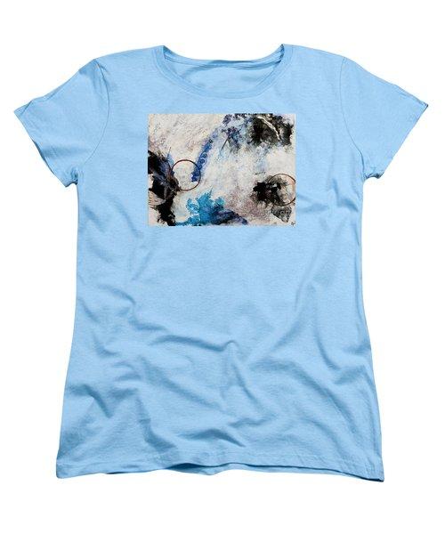 Stormy Bird Women's T-Shirt (Standard Cut) by Gallery Messina