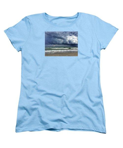 Stormy Ocean Women's T-Shirt (Standard Cut)