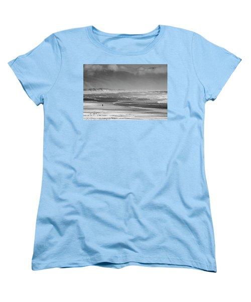 Stormy Oceanside Oregon Women's T-Shirt (Standard Cut) by Amyn Nasser