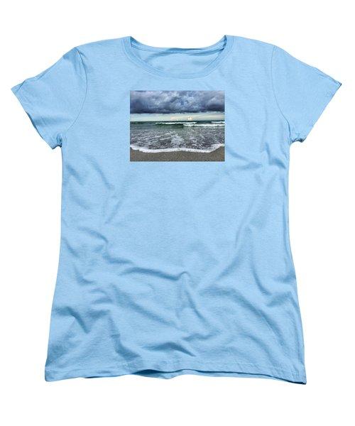 Stormy Waves Women's T-Shirt (Standard Cut)