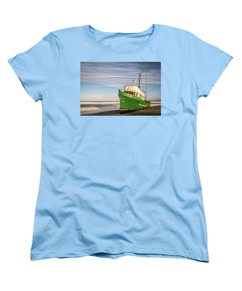 Stranded On The Beach Women's T-Shirt (Standard Cut) by Jon Glaser