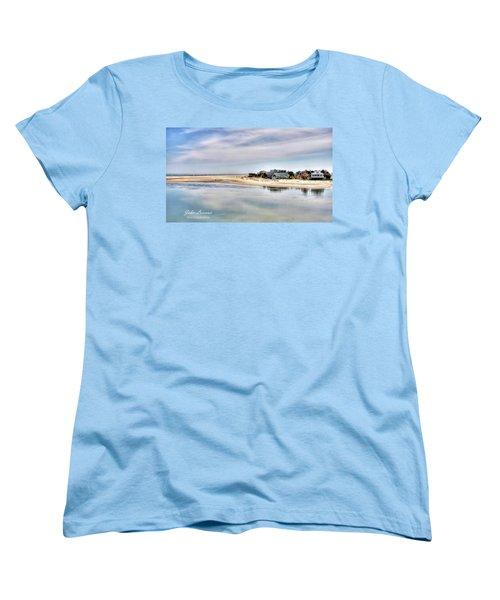 Strathmere Women's T-Shirt (Standard Cut) by John Loreaux