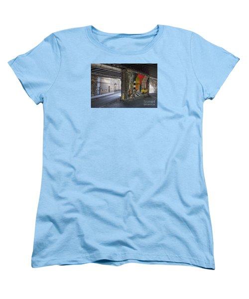 Street Scene - Edinburgh Women's T-Shirt (Standard Cut) by Amy Fearn