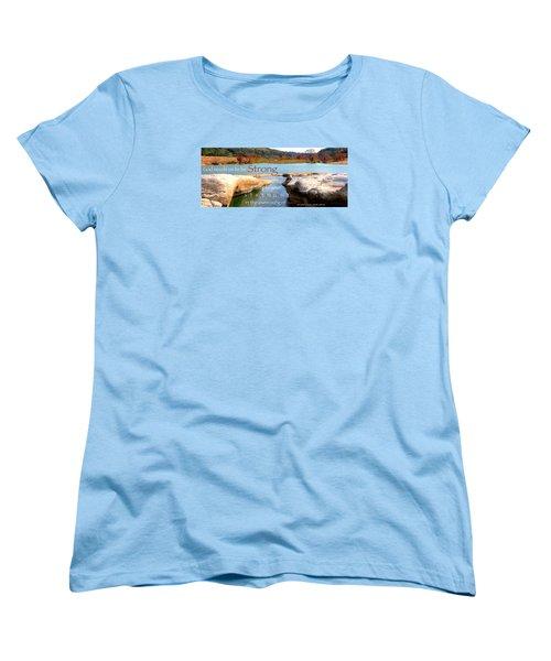 Strength Multiplied Women's T-Shirt (Standard Cut) by David Norman