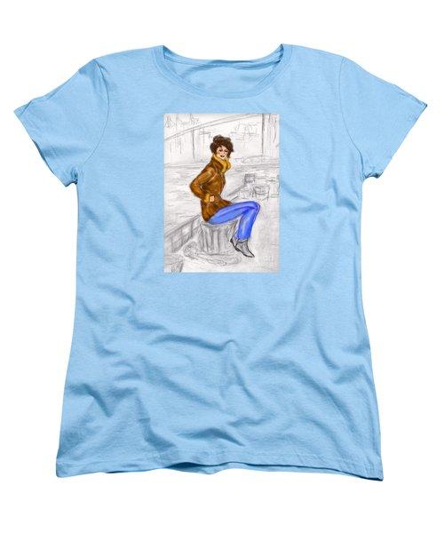 Strike A Pose Women's T-Shirt (Standard Cut)