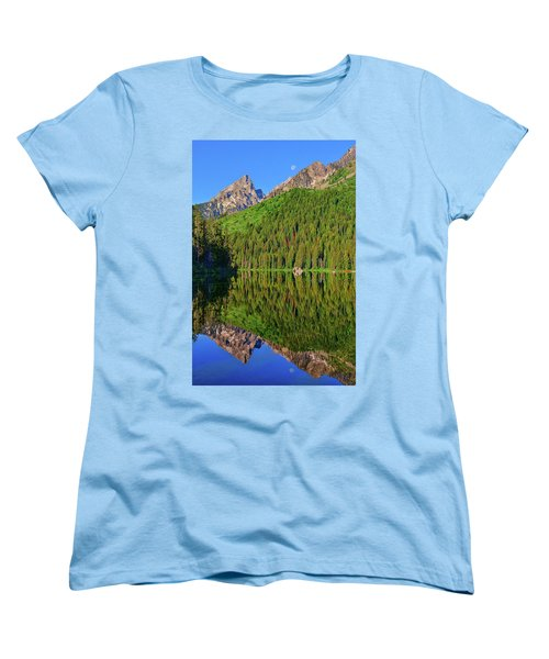 String Lake Morning Mirror Women's T-Shirt (Standard Cut) by Greg Norrell