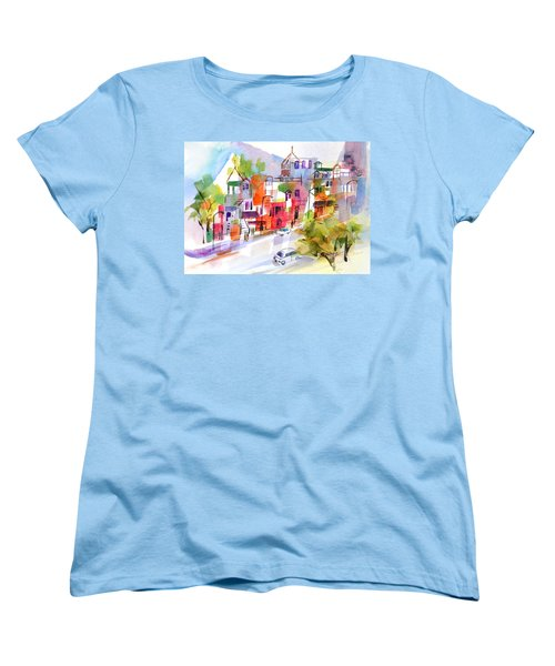Stroll In Montreal Women's T-Shirt (Standard Cut) by Betty M M Wong
