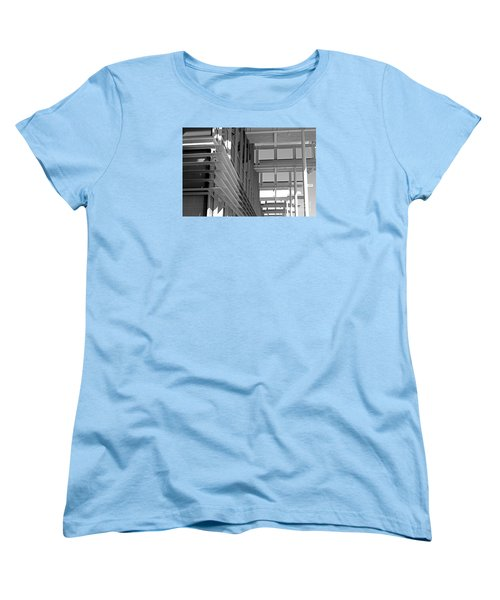 Women's T-Shirt (Standard Cut) featuring the photograph Structure Abstract 2 by Cheryl Del Toro
