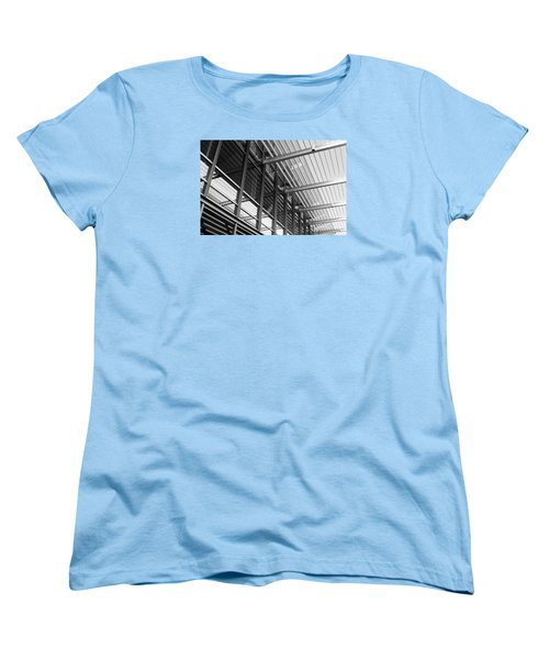 Women's T-Shirt (Standard Cut) featuring the photograph Structure Abstract 9 by Cheryl Del Toro