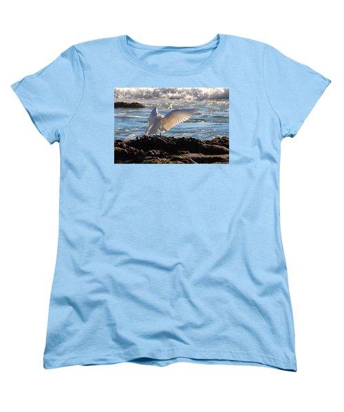 Strut Women's T-Shirt (Standard Cut) by Clayton Bruster
