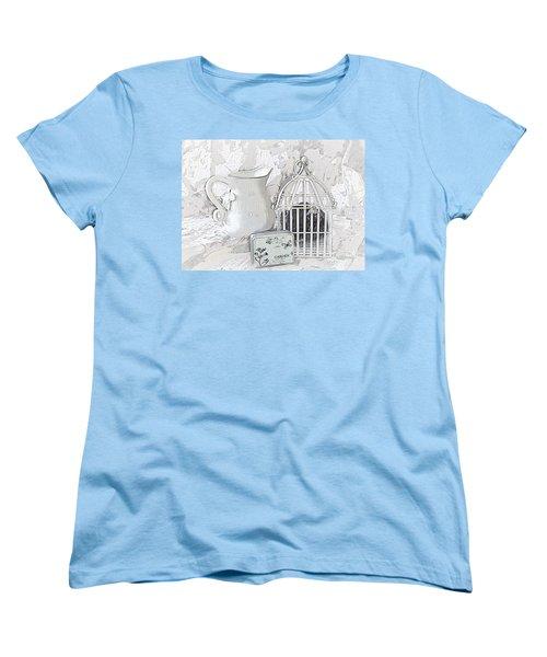 Stuck And All Alone Women's T-Shirt (Standard Cut) by Sherry Hallemeier