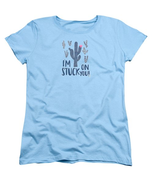 Stuck On You Women's T-Shirt (Standard Cut) by Elizabeth Taylor
