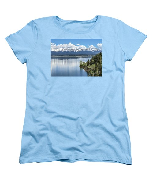 Women's T-Shirt (Standard Cut) featuring the photograph Stunning Colorado by William Wyckoff