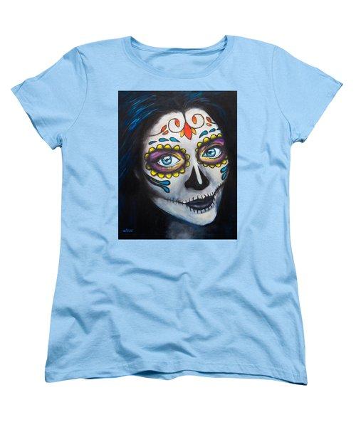 Sugar Sheana Women's T-Shirt (Standard Cut) by Arleana Holtzmann