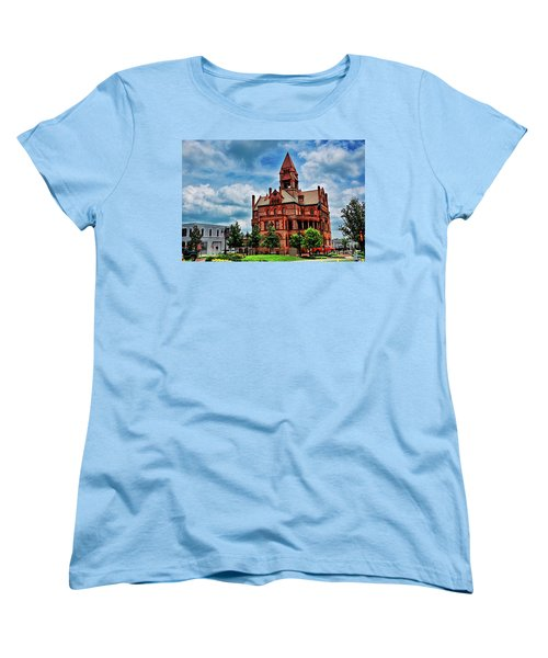 Sulphur Springs Courthouse Women's T-Shirt (Standard Cut) by Diana Mary Sharpton
