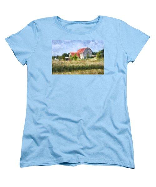 Summer Barn Women's T-Shirt (Standard Cut) by Francesa Miller