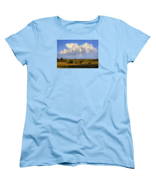 Summer Evening Formations Women's T-Shirt (Standard Cut) by Bruce Morrison