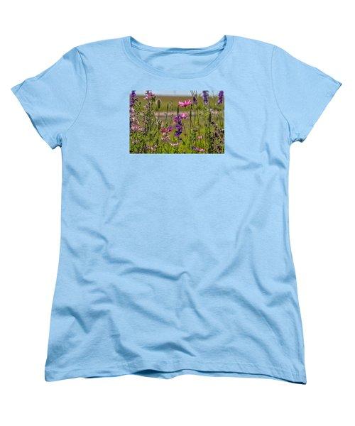 Summer Garden Women's T-Shirt (Standard Cut) by Alana Thrower