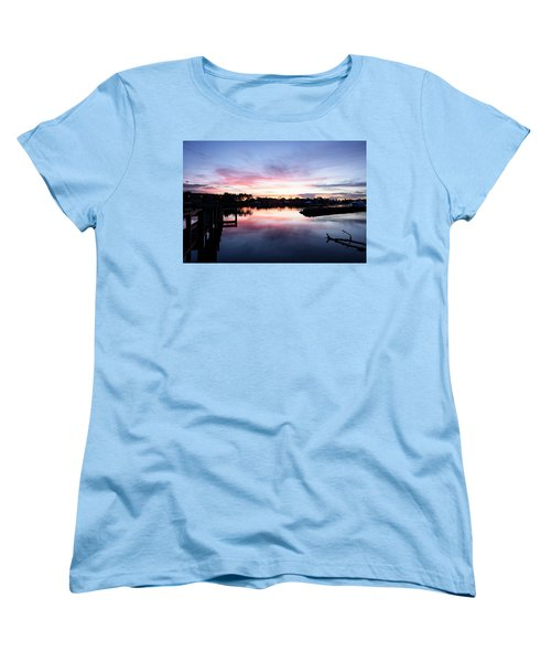 Women's T-Shirt (Standard Cut) featuring the photograph Summer House by Laura Fasulo