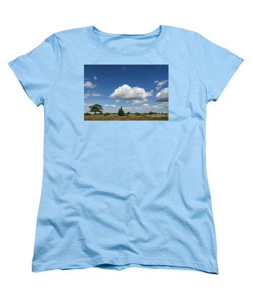 Summer Landscape Women's T-Shirt (Standard Cut) by Kennerth and Birgitta Kullman