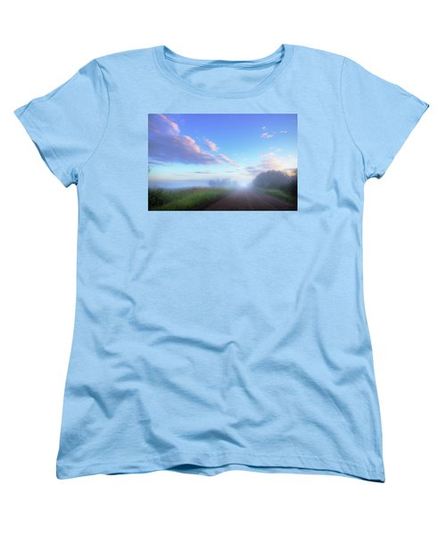 Summer Morning In Alberta Women's T-Shirt (Standard Cut) by Dan Jurak