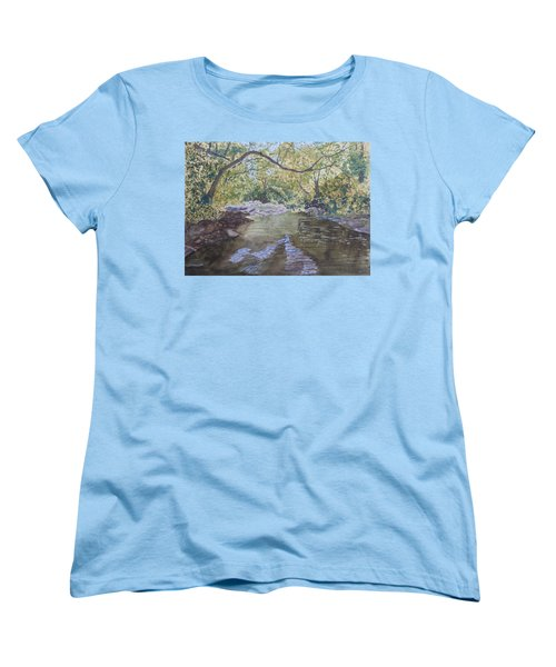 Summer On The South Tow River Women's T-Shirt (Standard Cut) by Joel Deutsch