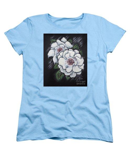 Summer Roses Women's T-Shirt (Standard Cut) by Scott and Dixie Wiley