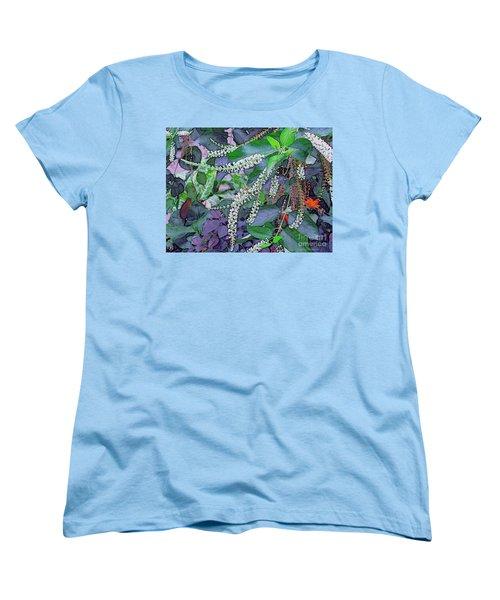 Summer White Women's T-Shirt (Standard Cut) by Kathie Chicoine