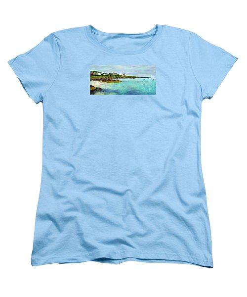 Summertime, Isle Of Iona Women's T-Shirt (Standard Cut) by Judi Bagwell
