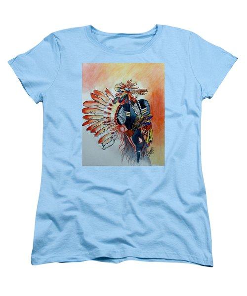 Sun Dancer Women's T-Shirt (Standard Cut) by Jimmy Smith
