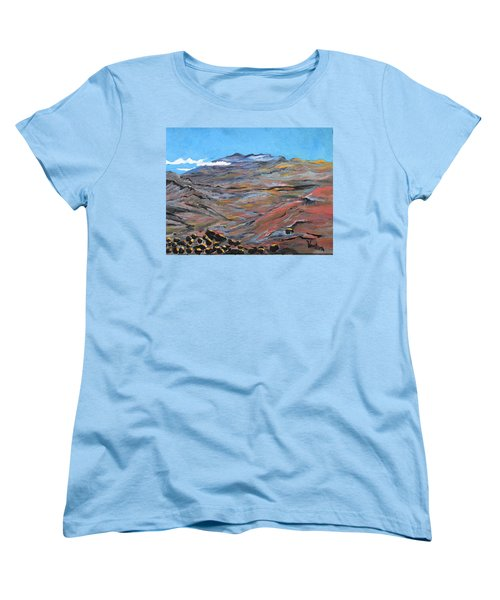 Sun Salutation At Haleakala Women's T-Shirt (Standard Cut)