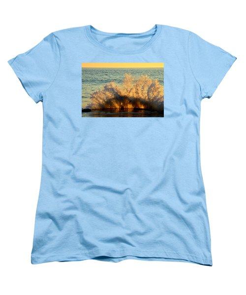 Sunburst Women's T-Shirt (Standard Cut) by Dianne Cowen