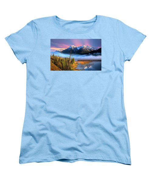 Women's T-Shirt (Standard Cut) featuring the photograph Sundance by John Poon