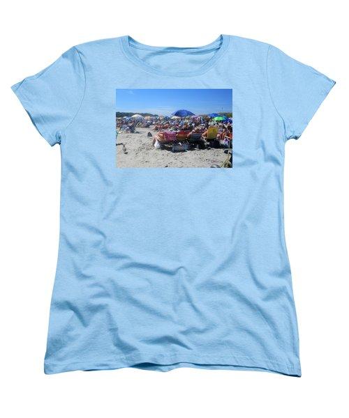 Sunday At The Beach Women's T-Shirt (Standard Cut)